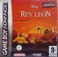 El Rey Leon GBA portada