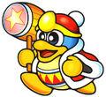 Rey Dedede, villano y rival de Kirby.