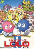 Adventures of Lolo II - Portada JAP