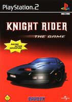 Knight Rider - The Game portada Ale