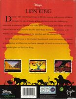 The Lion King portada DOS Eur-b