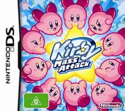 Kirby Mass Attack portada AUS