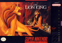 The Lion King portada SNES USA