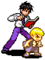 Rauzaruk Zatch & Kiyo - KNGB Unare Yuujou no Zakeru 2