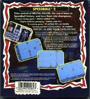 Speedball 2 contraportada Atari ST KIXX
