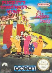 The Addams Family - Pugsley's Scavenger Hunt - Portada.jpg