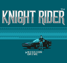 Knight Rider NES titulo.png