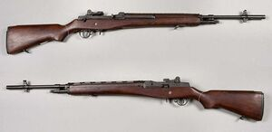 M14 rifle - USA - 7,62x51mm - Armémuseum