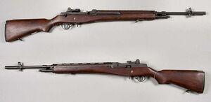 M14 rifle - USA - 7,62x51mm - Armémuseum
