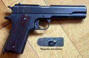 Colt 1911 Cal. 455