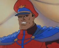 M. Bison (Street Fighter Cartoon)