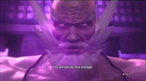 Tekken Tag Tournament 2 Jinpachi Ending