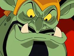 Krudsky as a goblin
