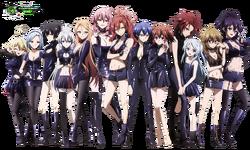Akuma no Riddle Grupa Assasins Mega Kakoiiii Killers HD Render