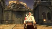 Kratos confronts Basilisk 2nd