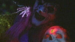 Killjoy with a voodoo skull