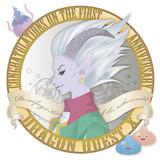 Nergel badge