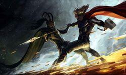 Loki vs Thor