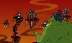 The Eight Demon Sorcerers