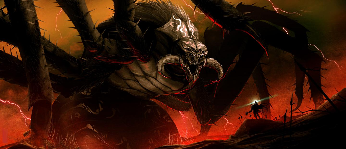Ungoliant | Villains Wiki | Fandom powered by Wikia Ungoliant Vs Balrog