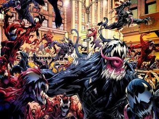 Symbiote invasion