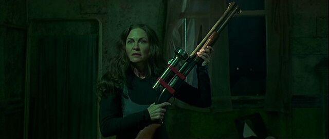 File:Patricia Bradley with a shotgun.jpg