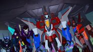 Starscream and his Henchmen