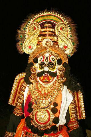 File:Demon Yakshagana.jpg