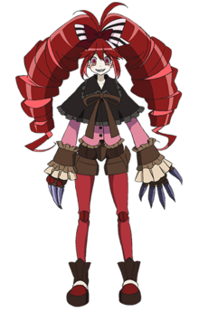 Mika character design