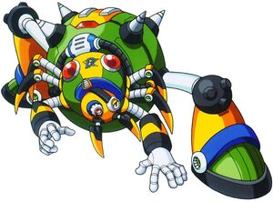 Megaman X4 - Boss 1 Web Spider