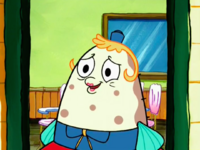 SpongeBob SquarePants Mrs. Puff After Lying