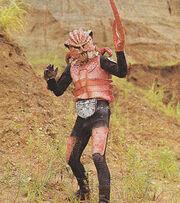 Kanibubbler Shocker Kaijin