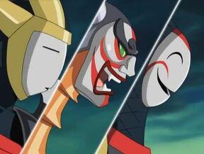 Three Masked Knights