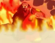 Akainu flames