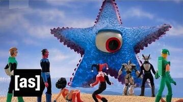 Starro Attacks Robot Chicken Adult Swim