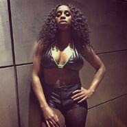 Evil Naomi Backstage