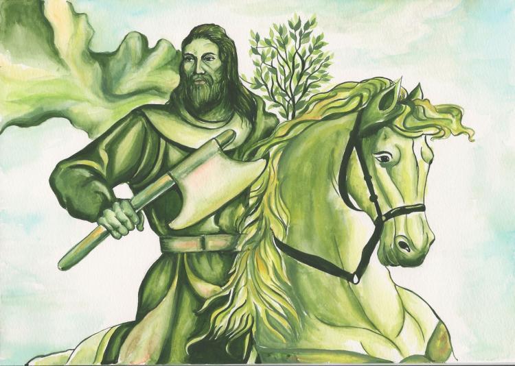 the green knight - photo #1