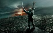 Azog with orc's