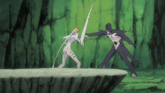Harribel Vs Hammerhead Arrancar
