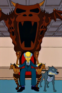 Mr. burns chair