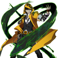 Yūki Terumi (Story Mode Artwork, Pre Battle, 2)