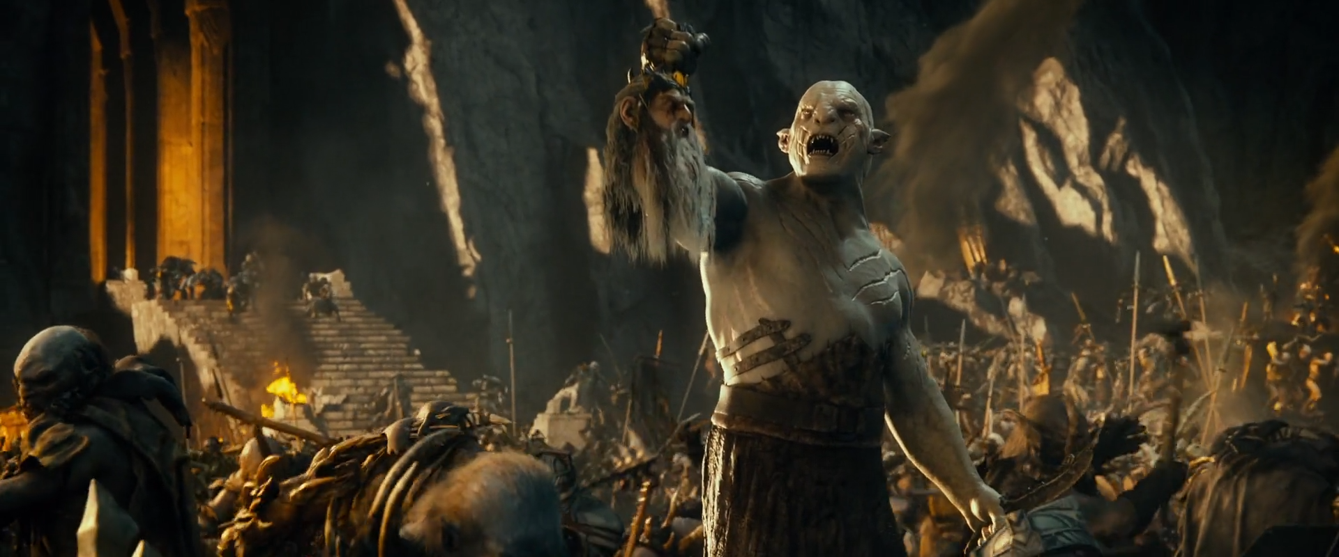 image azog with thr243r headpng villains wiki fandom