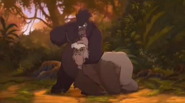 File:Tarzan II Mama Gunda vs Zugor.png