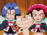 Team Rocket's Angry Stare