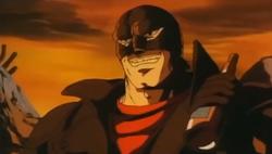 Dante grinning sadistically