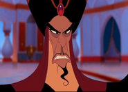 Jafar's menacing glare