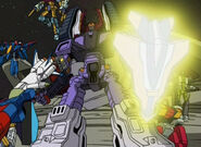 Uprising galvatron weapons