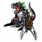 DarkTyrannomon
