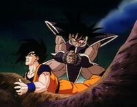 Turles vs. Goku