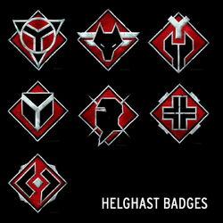 Helghast badges by helghastassassin111